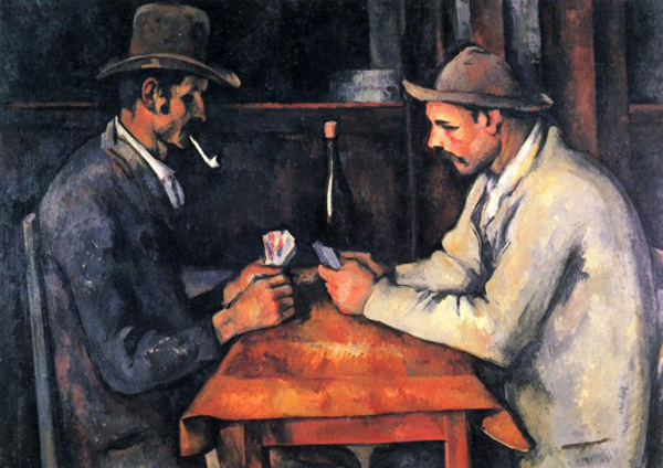 the-card-players-painting